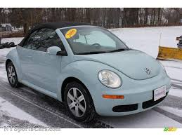 volkswagen bug blue 2006 volkswagen new beetle 2 5 convertible in aquarius blue photo