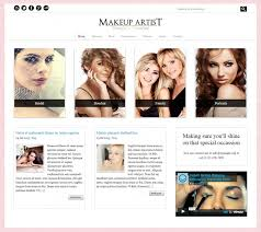 makeup artists websites some great and unique makeup artist theme