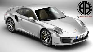 Porsche 911 Turbo - porsche 911 turbo s 2014 3d model