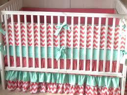 Coral Nursery Bedding Coral Crib Bedding Set Baby Crib Bedding Sets Coral Baby Bedding