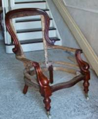 Armchair Frame Our Antique Restoration Services Oldchairs Ie