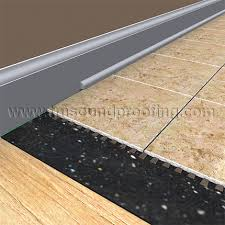 rubber underlayment for impact sound trademark soundproofing