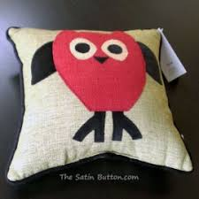 woof and poof woof n poof pillow owl green