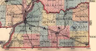 Map Of Illinois And Indiana by Cass County Illinois Maps And Gazetteers