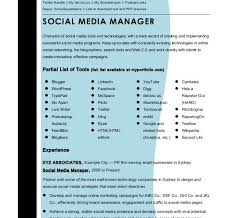 Social Media Manager Resume Sample by Innovational Ideas Social Media Manager Resume 10 Social Media