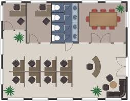 Rectangle Floor Plans Office Layout Plans Solution Conceptdraw Com