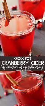 crock pot cranberry cider kleinworth co