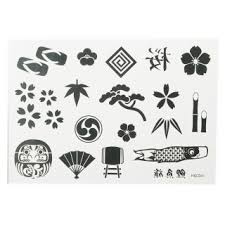 japanese pattern temporary sticker 6123 tmart
