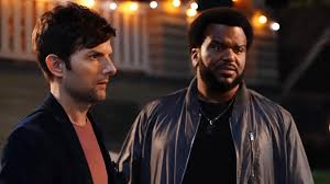 ghosted u0027 sneak peek adam scott guilts craig robinson into