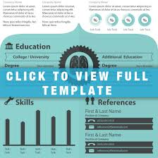 Infographic Resume Template Free Download Infographic Resume Template Hire This Brain