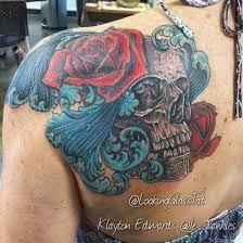 31 supreme skull rose tattoos gun candy