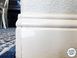 trim baseboard how to paint trim like a boss creatingmaryshome com