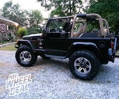 jeep chrome 17 9 u2033 tuff t01 black machined wheels with chrome inserts on a 2000