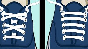 shoelace pattern for vans easy ways to lace vans shoes wikihow