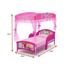 Princess Canopy Bed Disney Princess Canopy Toddler Bed Pink