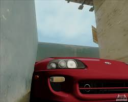 toyota supra side view toyota supra rz 98 twin turbo for gta san andreas