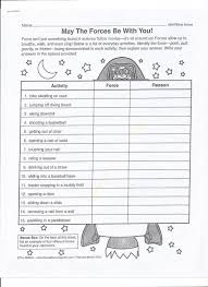 Comprehension Worksheets For Grade 8 Collection Of Motion And Forces Worksheets Cockpito