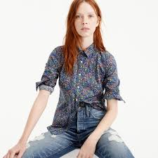 perfect shirt liberty catesby floral women j crew in good