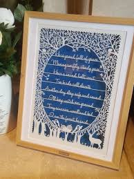 Paperpanda Stag Poem U0027 Original Papercut By Paperpandacuts On Deviantart