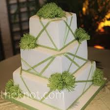green wedding cakes give your big day a refreshing touch