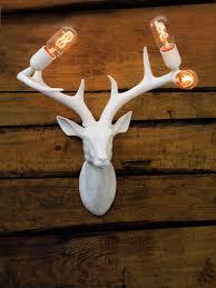 Stag Head Home Decor Stags Head Wall Light Chantelle Lighting Bespoke Lighting Uk