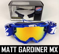 motocross goggles ebay 100 percent accuri mx motocross goggles reflex blue with fire
