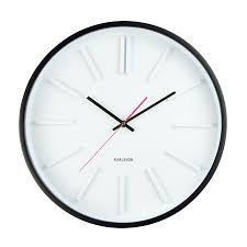 Horloge Murale Silencieuse by Embossed Horloge Murale Design Karlsson Present Time