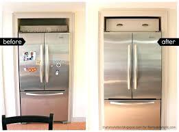 top of fridge storage refrigerator decoration ideas decorating top of the fridge room