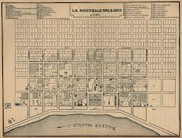 Map Of New Orleans Area nola history 8 fascinating old new orleans maps gonola com