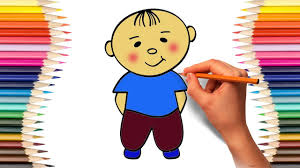 coloring pages drawing and coloring the boy cartoon hero