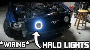 halo light installation near me installing halo fog lights on my brothers gt mustang 05 09 gt