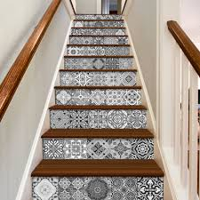 Kitchen Backsplash Tile Stickers Staircase Decals Tile Decal Staircase Portuguese Tiles