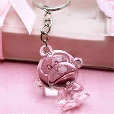baby shower keychain favors safari monkey keychain favors baby shower favors and supplies