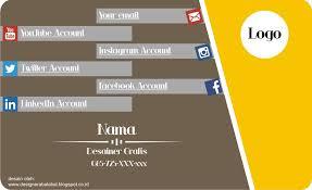 template kartu nama makanan download desain kartu nama format corel draw cdr tukangketik