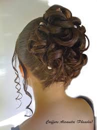 chignon pour un mariage coiffure en image - Chagne Pour Mariage