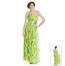 product trixxi strapless printed high low maxi dress younkers