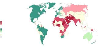 Ireland Location In World Map by Map Shows Where Being Lgbt Can Be Punishable By Law