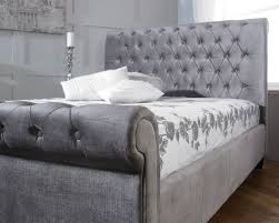 Fabric Sleigh Bed 39 Best Fabric Bed Frames Images On Pinterest Fabric Bed Frames