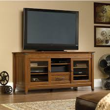 Credenza Tv Sauder Carson Forge 412922 Credenza Tv Stands At Kennedy U0027s