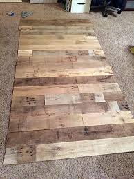 repurposed wood wall diy reclaimed wood wall frugal novice