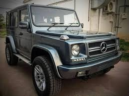 modified bolero force gurkha customised into mercedes g class looks incredible