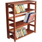 Folding Bookshelves - cherry bookshelves