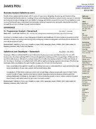 database developer resume sample resume salesforce developer resume template salesforce developer resume medium size template salesforce developer resume large size