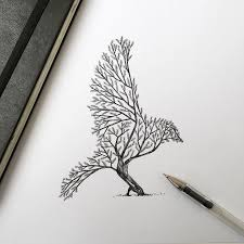25 unique bird tree ideas on pencil drawings e bird