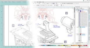 corel designer technical suite aerospace defense industry workflows