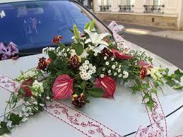 Decoration Florale Mariage Langlet Fleurs U2013 Décoration De Voiture U2013 Provins U2013 77