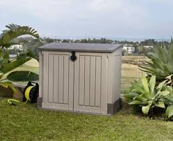 Backyard Storage Units Outdoor Storage Unit Garage Lockable Shed Lawn Tools Cabinet Yard