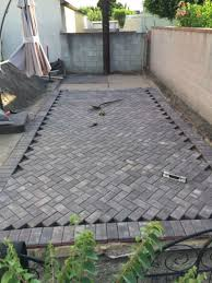 Diy Patio With Pavers Best 25 Pavers Patio Ideas On Pinterest Backyard Pavers Paver
