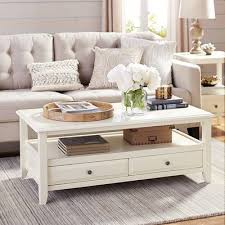 White Wood Coffee Table The Great White Coffee Table Is Inspired By Clapboard Coastal