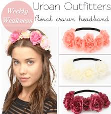 floral headband weekly weakness outfitters floral headband poor